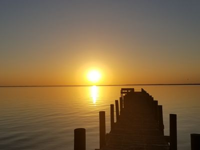 Photo for Bayfront Home with Dock! Private 7 Acres! Great Reviews! SGI not far!