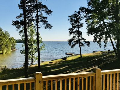 Photo for Quiet Lakefront Retreat across from Big Water Marina
