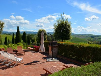 Photo for House 509 m from the center of Castelfiorentino with Parking, Internet, Washing machine, Pool (117143)