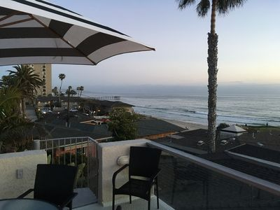 Photo for Panoramic Pacific Ocean View House - Steps to Beach & Shops