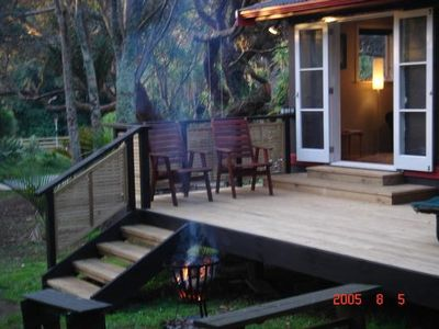 Photo for Black Sands Lodge :Tui Cottage self contained