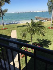 Photo for New Listing! Boca Ciega Waterfront Beauty, Pool, Spa