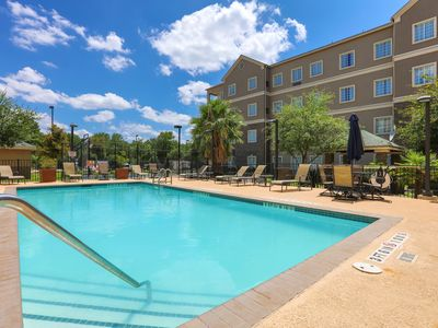 Photo for Suite Located Close to the Austin Airport | Free Breakfast + Outdoor Pool