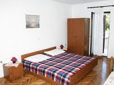 Photo for Studio flat with balcony and sea view Mandre (Pag)