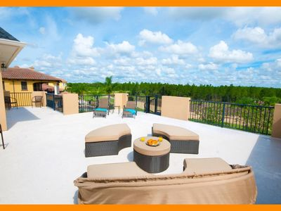 Photo for Reunion Resort 49 - Superior villa with private pool & game room near Disney