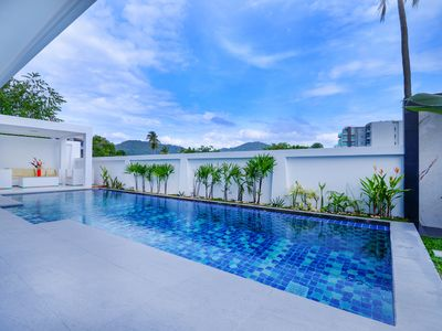 Photo for Naiharn Bansuanview Private Pool Villa Phuket - 3 bedrooms Nearby Naiharn Beach.