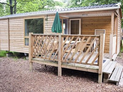 Photo for Camping Huttopia Lake Sillé *** - Mobile Home Cottage 3 Rooms 6 People