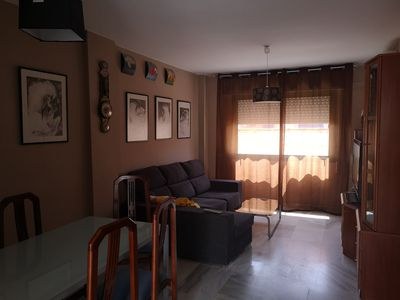 Photo for Apartment in the center of Jerez, maximum qualities, two bedrooms, televisions.
