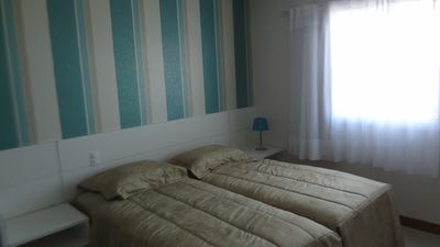 Photo for Pituba - Luxury flat, seafront, 5min Salvador's Fin Center-Free WIFI