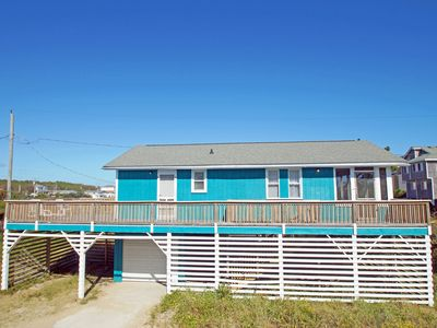 Photo for OCEANSIDE - 3 BEDROOMS W/2 BATHS-DIRECT BEACH ACCESS, WIFI, AND PET FRIENDLY!