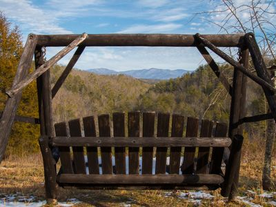 Photo for Mountain Lodge on 63 Acres - 20 minutes from Asheville