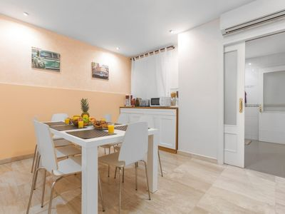 Photo for Apartment 1.3 km from the center of Barcelona with Internet, Lift, Washing machine (315525)