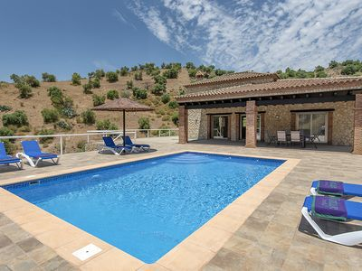 Photo for 3 bedroom Villa, sleeps 6 in El Gastor with Pool, Air Con and WiFi