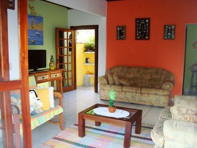 Photo for Comfortable house 5 min from the center of Ilhabela, 3 bedrooms, sleeps up to 7 people