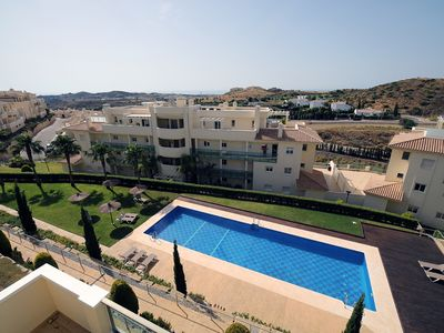 Photo for Mijas Costa Arana luxury appartment. 140m2 Great terrace. Golf, sea and mountain