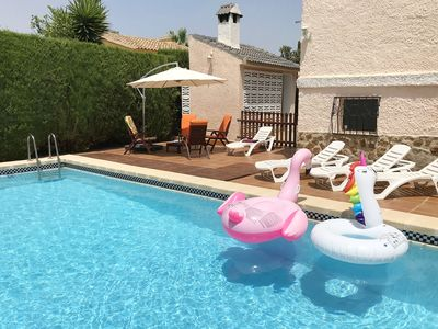 Photo for Charming Villa with private pool and garden very close to Valencia.