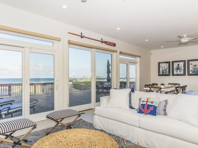 Photo for Oceanfront, Family Friendly, Private Beach Getaway