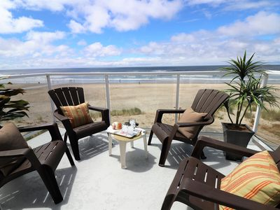 Photo for Exquisite Unobstructed Oceanfront Views! Luxury home with direct beach access!