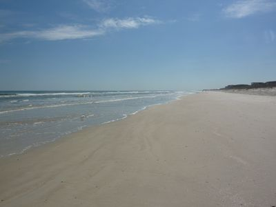 Perfect beach; wide with soft sand. Tidal pools for kids, Walk for miles