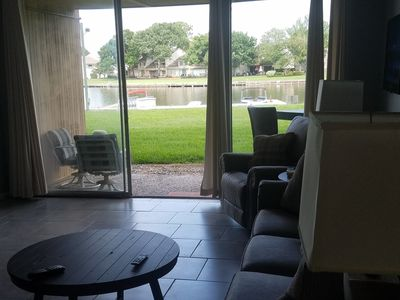 Photo for Beautiful 1st Floor Lake Front Condo