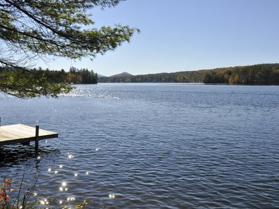 Photo for A private retreat on beautiful Loon Lake!