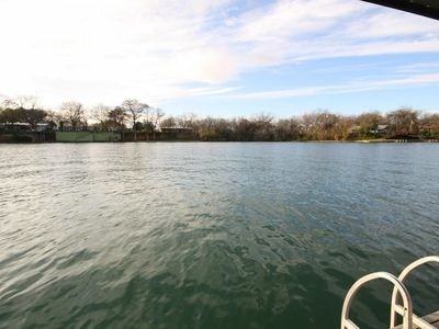 Photo for Pecan Shores Retreat- Lakefront Home Only 6 Miles from Schlitterbahn!