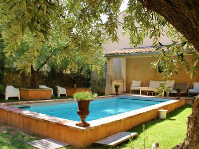 Photo for Beautiful house with swimming pool, right in the center of the village