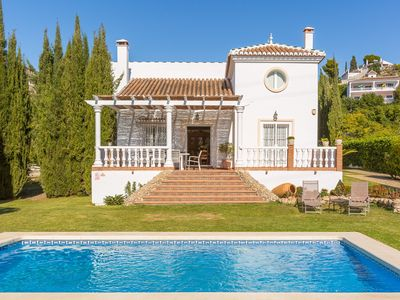 Photo for Villa Tinajas: Large Private Pool, Sea Views, A/C, WiFi