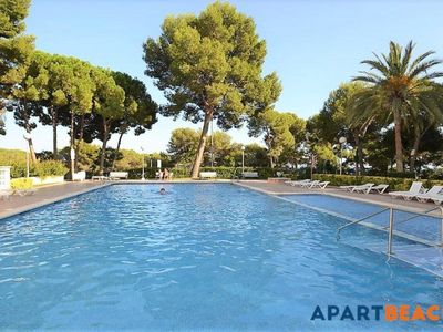 Photo for Apart-hotel Cala Dorada, with swimming pool and 4 minutes walking from the beach