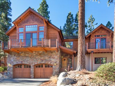 Photo for 5BR/3BA Luxury Custom Estate in South Tahoe + Private Hot Tub, Sleeps 14