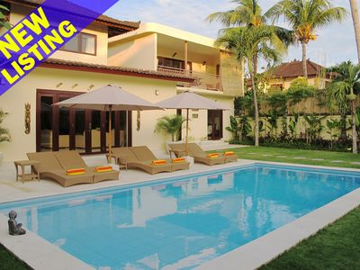 Photo for Aisha, 9 Bedroom Villa, Best central Location, Seminyak