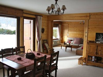 Photo for Luxury Apartment for 6pers located in the Mont D'Arbois in Megève