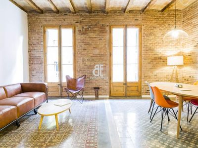 Photo for Homes In Blue - Apartment with 3 bedrooms and 2 bathrooms with capacity for 5 people located in the Diagonal Avenue of Barcelona