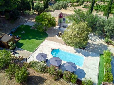 Photo for Provencal villa completely restored + swimming pool
