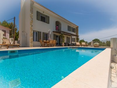 Photo for Korianna (near Spartia): Luxury boutique villa with incredible views