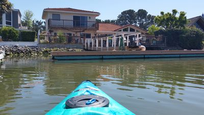 Photo for Right on the water with private dock !!!! San Rafael, California, United States