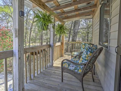Photo for Nautical Ocean Isle Beach Cottage w/Outdoor Space!