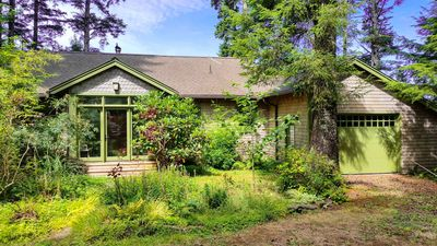 Photo for Secluded home right on Netarts Bay!