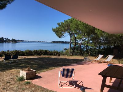 Photo for Architect house on one level with panoramic views of the Gulf of Morbihan