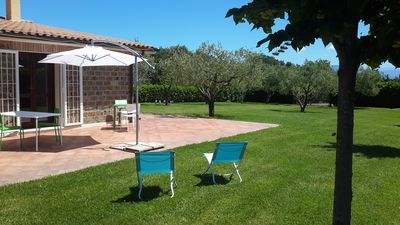 Photo for Relaxing in the greenery a short distance from Rome and the villages of the magnificent Tuscia