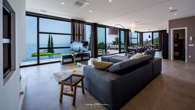 Photo for Modern luxury villa with sea view near Opatija
