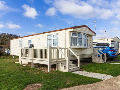 Photo for 6 berth holiday home for hire at Broadland sands holiday ref 20217