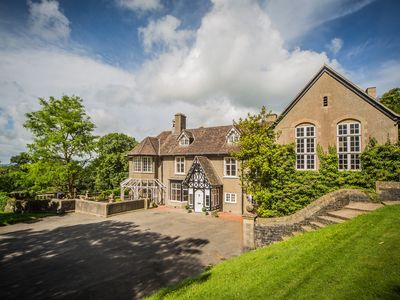 Photo for A beautiful home set in 11 acres of grounds, overlooking the Mendip Hills.