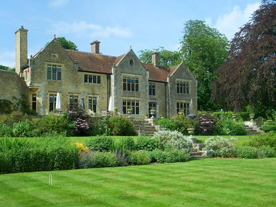 Photo for Stunning Country House, sleeps 24, in North Dorset, England