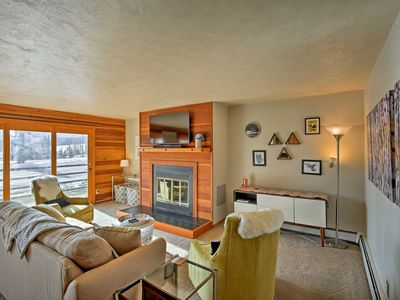 Photo for Summit County Condo w/Mtn Views, Pool & Spa Access
