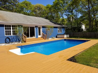 Photo for Special! Village of Westhampton Beach, Walk to Town, CAC, Pool, Hot Tub, Clean.