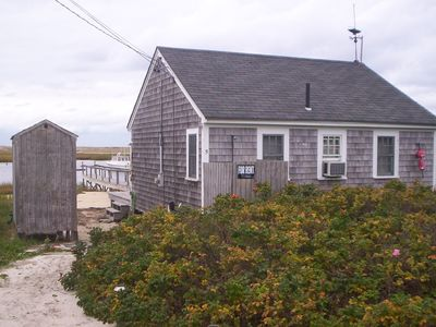 Photo for Tiny Waterfront House - Pamet Harbor, Truro.  Close to Provincetown