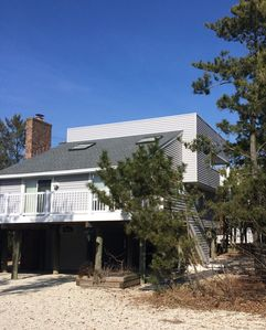 Photo for 3 Houses From Beach in Harvey Cedars. Amazing sunsets and pet friendly.