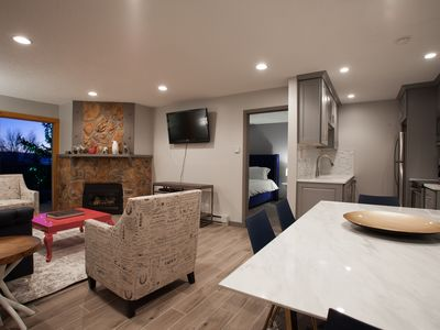 Photo for Remodeled Modern Condo w/ Direct access to Ski Area Trails, Views & 4 HTs