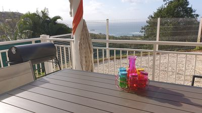 Photo for Sea view villa with Jacuzzi on the Caravelle peninsula